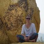 """Anderer, kleinerer golden Rock. Auch für Frauen """"erreichbar"""""""