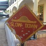 Erstmal runterschalten: Das zentrale Motto im Kloster: SLOW DOWN